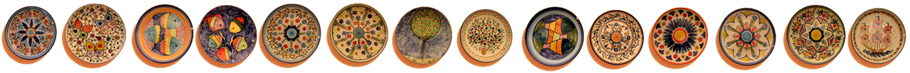 hand made plate gallery
